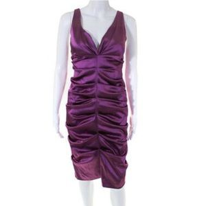 Gorgeous Nicole Miller ruched dress